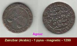 Zainzbar (Arabic) - 1 Baise - 1299 - Agouz - Other Coins