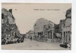 CPA 51 : FISMES   Rue De La Huchette    A   VOIR !! - Fismes