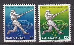 PGL AY155 - SAN MARINO SAINT MARIN SASSONE N°1002/03 ** - San Marino