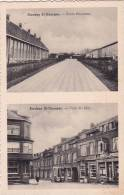 Stockay St-Georges 7: Ecole Moyenne Et Coin Du Mur ( Carte 2 Vues) - Saint-Georges-sur-Meuse