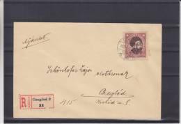 Hongrie - Lettre Recommandée De 1919 - Lettres & Documents