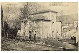 Carte Postale Ancienne Lamalou Les Bains - Villa Théron - Lamalou Les Bains