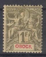 Obock   Yvert  44 MH/*, CV Maury  €  60 - Obock (1892-1899)