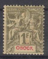 Obock   Yvert  44 MH/*, CV Maury  €  60 - Neufs