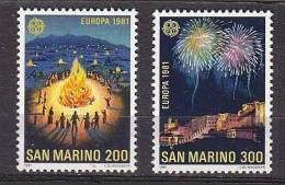 PGL AR0092 - SAN MARINO SAINT MARIN SASSONE N°1069/70 ** EUROPA CEPT - San Marino