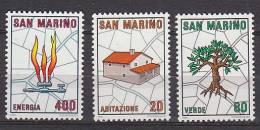 PGL AR0117 - SAN MARINO SAINT MARIN SASSONE N°1079/81 ** - San Marino
