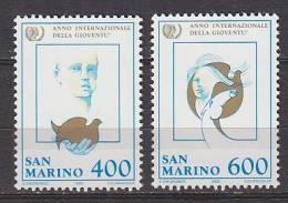 PGL AR0247 - SAN MARINO SAINT MARIN SASSONE N°1162/63 ** - San Marino