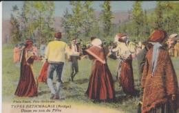 09---Types Bethmalais---danse Au Son Du Fifre--voir 2 Scans - Unclassified
