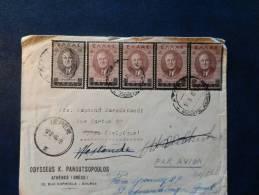 31/161  LETTRE  1946  T0 BELGUIM - Grecia