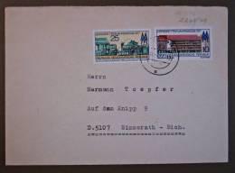 DDR Brief Leipziger Frühjahrsmesse Gel. Weimar - Simmerath 1977 - DDR