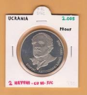 UCRANIA  2  HRYVNI   2.005   CU NI     SC/UNC    DL-8162 - Ucrania