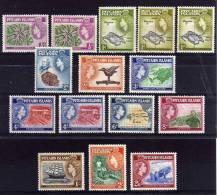 Pitcairn Islands - 1957/63 - QEII Definitives - MH - Pitcairn