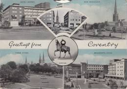 GREETINGS FROM COVENTRY / CARTE A SYSTEME - Coventry