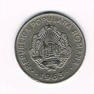 ROEMENIE  1 LEU  1963 - Roumanie