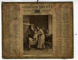 /!\ #3976 - ALMANACH PTT 1915 - Grand Format : 1901-20