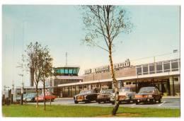TRANSPORT AERODROME EAST MIDLAND AIRPORT CASTLE DONINGTON USA POSTCARD - Aerodrome