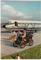 TRANSPORT AERODROME FRANKFURT MAIN FERIEN GERMANY BIG POSTCARD - Aerodrome