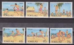 Tokelau 1987 Mi. 142-147** MNH - Sport - Tokelau