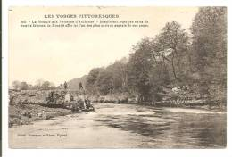 88  -  La Moselle Aux Saverons D'Archettes - Bondissant Resserrée Entre De Hautes Falaises...  Petite Animation - France
