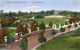 CPA SALUT DE MORESNET BELGE. Calvarienberg. Colorisée. 1915 - Plombières