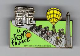 Pin´s Tour De France 2012 - Mongolfière - Cycling