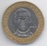 DOMINICANA 5 PESOS 1997 BIMETALLICA - Dominicaine