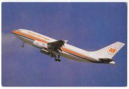TRANSPORT AIRPLANE AIRBUS A310-300 KENYA AIRWAYS KENYA BIG POSTCARD - 1946-....: Moderne