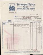 HERMITAGE DE L´EPINAY A FECAMP  / FACTURE DATEE 1939 - France