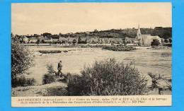 """37 SAVONNIERES : Centre Du Bourg; église; Le Cher Et Le Barrage De La Minoterie De La """"Fédération Des Coopératives D'ind - Other Municipalities"""