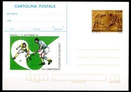 ITALIA / ITALY 1999 - VIII Campionati Europei Di Hockey - Cartolina Postale Come Da Scansione - Hockey (su Erba)