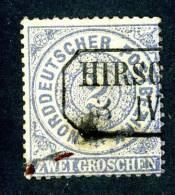 GS-473)  NORTH GERMAN CONF.  1869  Mi.#17 / Sc.#17  Used - Norddeutscher Postbezirk