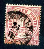 GS-485)  NORTH GERMAN CONF.  1860  Mi.#16 / Sc.#16 Used - Norddeutscher Postbezirk