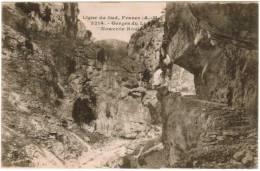 CPA Ligne Du Sud, Gorges Du Loup (pk6358) - Francia