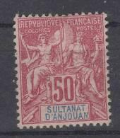 Anjouan : Yvert  11 MH/* , Maury CV €  50 - Unused Stamps