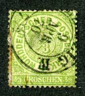 GS-500)  NORTH GERMAN CONF.  1869  Mi.#14 / Sc.#14 Used - Norddeutscher Postbezirk