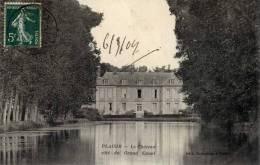 78-PLAISIR-Le Château,côté Du Grand Canal- - Plaisir