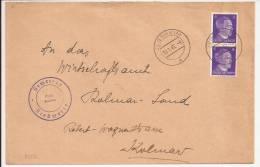 P237 - ENTETE MAIRIE RIEDWEIER - JEBSHEIM - 1942 - - Alsace-Lorraine
