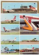 TRANSPORT AERODROME PRAHA CSZECH REPUBLIK BIG POSTCARD - Aerodrome