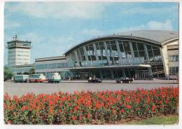 TRANSPORT AERODROME KIEV BORISPIL SSSR BIG POSTCARD 1985. - Aerodrome
