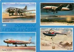 AVIONS DOPRAVNI  LETADLA V CSSR - 1946-....: Moderne