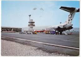 TRANSPORT AERODROME MARIBOR SLOVENIA YUGOSLAVIA BIG POSTCARD 1978. - Aerodrome