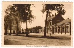 Beernem, Het Station En Voorplein (pk6373)