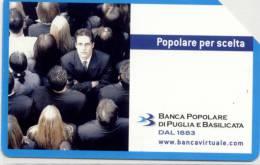 Carte Téléphone ITALIE 5,00 € Banque Populaire - Schede Telefoniche