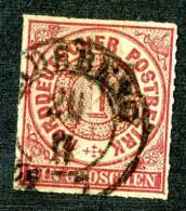 GS-545A)  NORTH GERMAN CONF.  1868  Mi.#4 / Sc.#4 Used - Norddeutscher Postbezirk