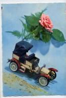 Jouet Et Rose--Voiture MERCEDES SIMPLE 1900--,cspm  10 X 15 N° 17-05  éd MI - Jeux Et Jouets