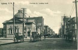 Sydney. C.B.  Charlotte St. Looking South  Cpa - Cape Breton