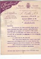 GENEVE .-  F. COLLE & CIE .- ED TAYLOR & Co  .- Seuls Concessionnaires De La Marque Pour La Suisse - Suisse
