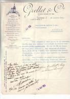 LAUSANNE .- GRELLET & Cie .' Agent Dépositaire Des Marques ..... - Switzerland