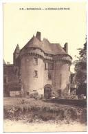 CPA Barbezieux 16 Charente Le Château (côté Nord) édit Dando Berry à Bordeaux Non écrite - Autres Communes