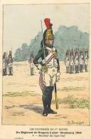 Militaires -militaria -ref B809- Illustrateur Uniformes-p Benigni - Les Uniformes Du 1er Empire -regt De Dragons A Pied - Uniformes